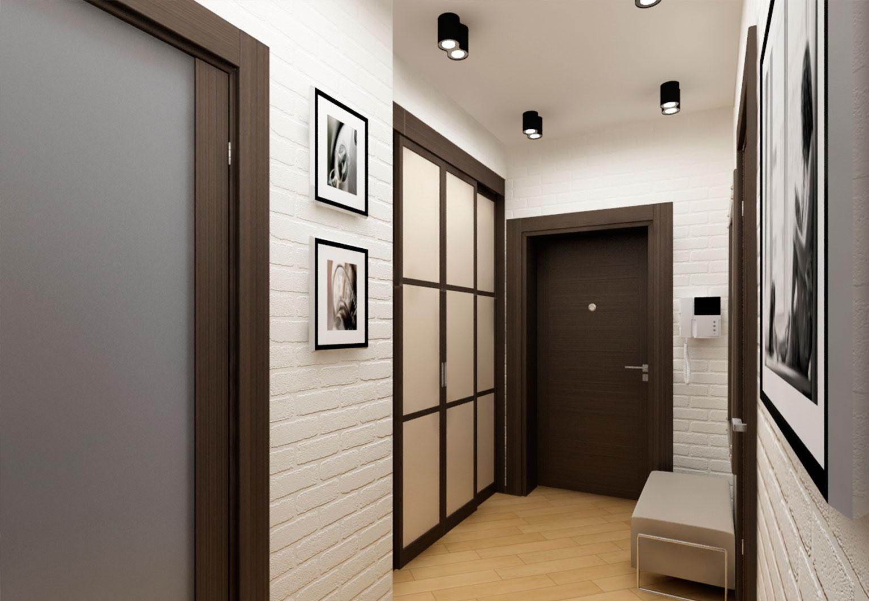 Küçük bir koridor tasarımı - yerden kazanın