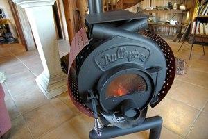 Печка под уголь для дома