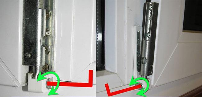 Üflenen plastik pencere: ne yapmalı Sorunu nasıl düzeltebilirim
